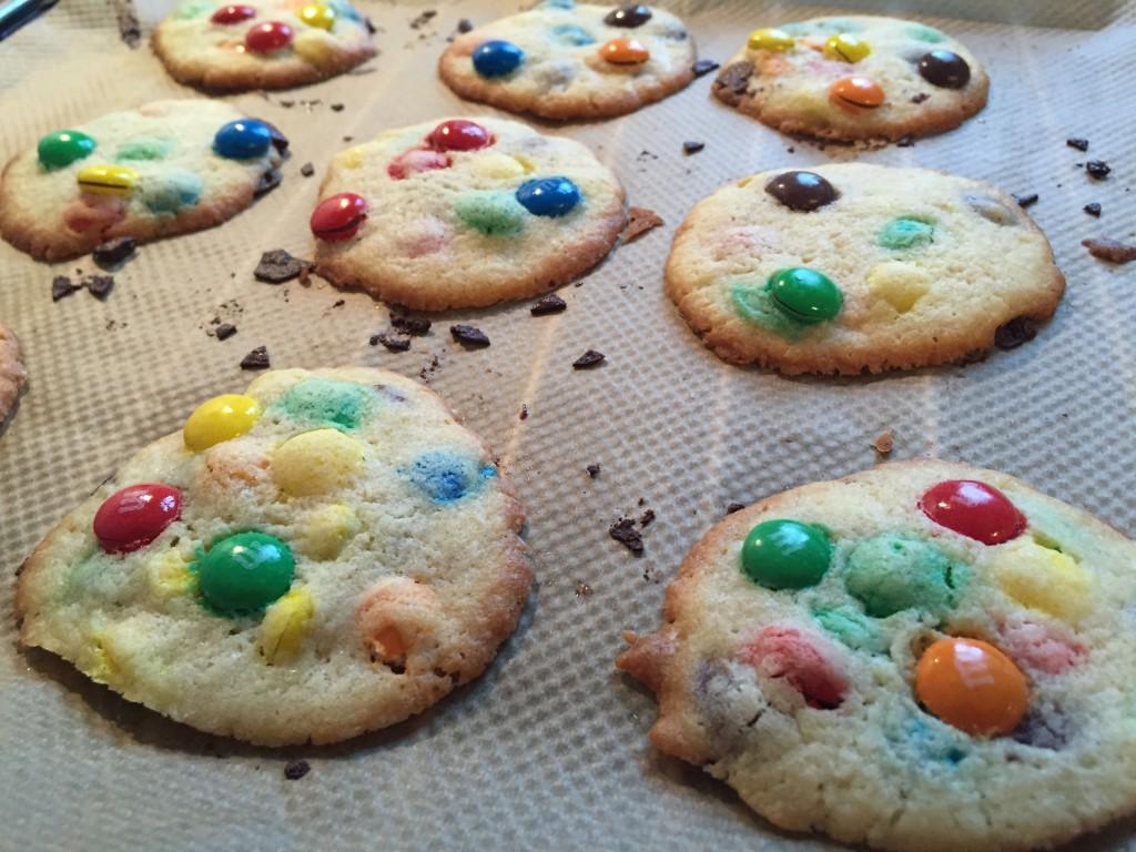 Fräulein Streusels M&M Cookies