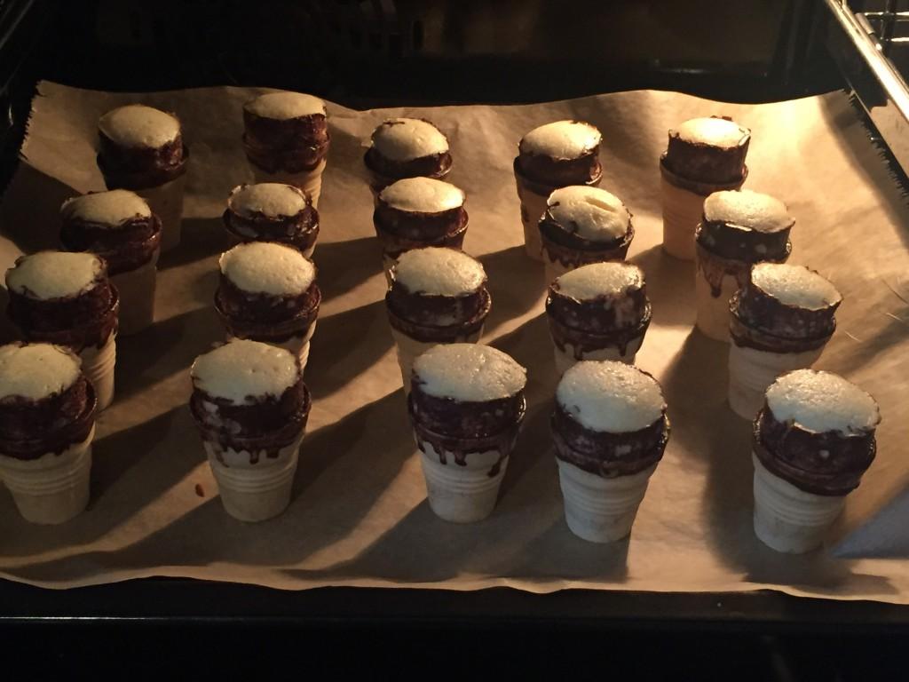 Fräulein Streusels Muffins in der Waffel