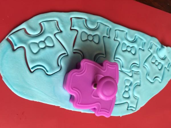 Leckere Cookies für die Taufe